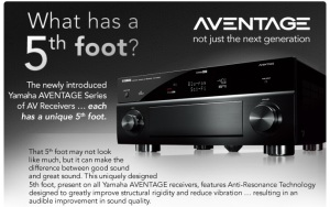 Yamaha: What has a 5th foot.