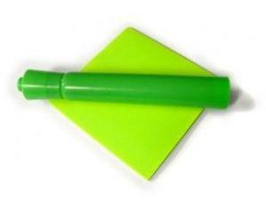 green sticky